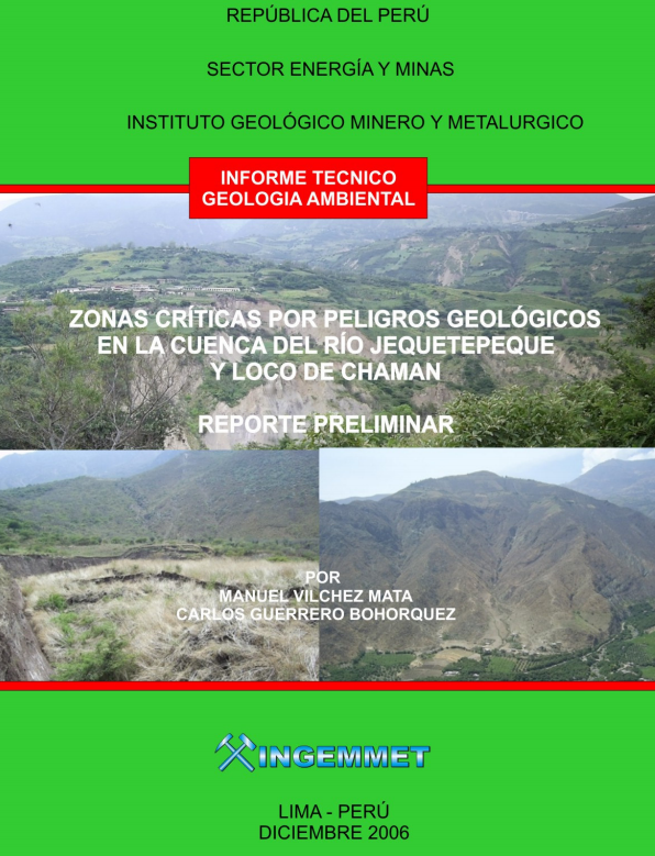 Cuenca del Río Jequetepeque y Loco de Chaman